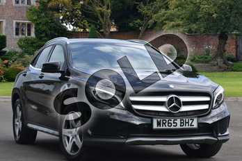 Mercedes-Benz GLA Class Diesel GLA 200d 4Matic AMG Line 5dr Auto (Premium) in Cosmos Black Metallic at Mercedes-Benz of Grimsby