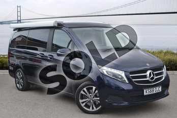 Mercedes-Benz V Class Diesel V250 d Marco Polo Horizon Sport 4dr Auto (Long) in cavansite blue metallic at Mercedes-Benz of Hull