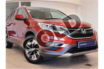 Honda CR-V Diesel 1.6 i-DTEC 160 EX 5dr in Passion Red at Listers Honda Northampton