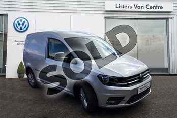 Volkswagen Caddy C20 Diesel 2.0 TDI BlueMotion Tech 150PS Highline Van DSG in Reflex Silver at Listers Volkswagen Van Centre Coventry