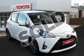 Toyota Yaris 1.5 VVT-i Icon 5dr in Pure White at Listers Toyota Grantham