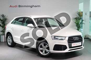 Audi Q3 1.4T FSI Sport 5dr in Shell White at Birmingham Audi