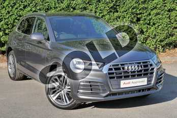 Audi Q5 45 TFSI Quattro S Line 5dr S Tronic in Daytona Grey Pearlescent at Worcester Audi