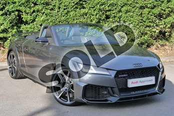 Audi TT TT RS TFSI Quattro 2dr S Tronic in Daytona Grey Pearlescent at Worcester Audi