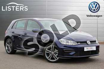 Volkswagen Golf 1.5 TSI EVO 150 R-Line 5dr DSG in Atlantic Blue at Listers Volkswagen Nuneaton