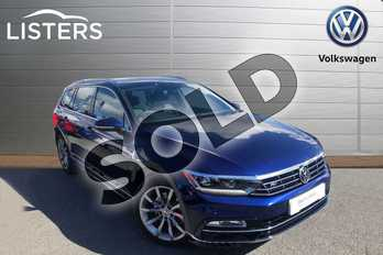 Volkswagen Passat Diesel 2.0 TDI R Line 5dr DSG (Panoramic Roof) (7 Speed) in Blue at Listers Volkswagen Worcester