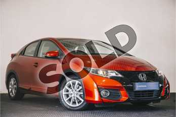 Honda Civic Diesel 1.6 i-DTEC SE Plus 5dr in Passion Red at Listers Honda Stratford-upon-Avon