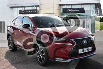 Lexus NX 300h 2.5 F-Sport 5dr CVT in Mesa Red at Lexus Cheltenham