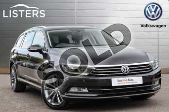 Volkswagen Passat Diesel 2.0 TDI GT 5dr DSG (Panoramic Roof) (7 Speed) in Manganese Grey at Listers Volkswagen Leamington Spa