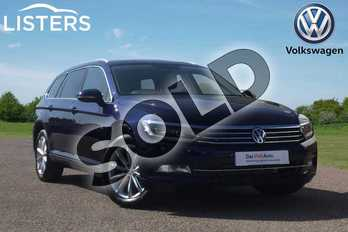 Volkswagen Passat Diesel 2.0 TDI SE Business 5dr DSG (7 Speed) in Atlantic Blue at Listers Volkswagen Loughborough