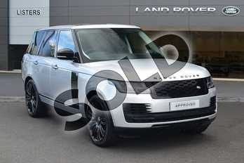 Range Rover Diesel 3.0 SDV6 Autobiography 4dr Auto in Indus Silver at Listers Land Rover Hereford