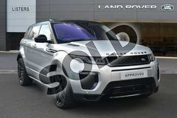 Range Rover Evoque Diesel 2.0 TD4 HSE Dynamic Lux 5dr Auto in Indus Silver at Listers Land Rover Hereford