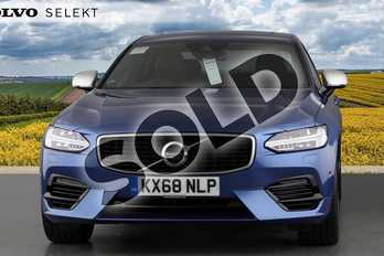 Volvo S90 2.0 T8 (390) Hybrid Inscription Pro 4dr AWD Gtron in 720 Bursting Blue at Listers Volvo Worcester
