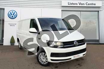 Volkswagen Transporter T30 LWB Diesel 2.0 TDI BMT 102 Trendline Van Euro 6 in Candy White at Listers Volkswagen Van Centre Coventry