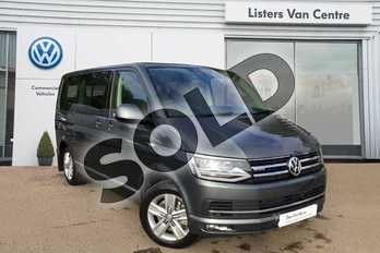 Volkswagen Caravelle Diesel 2.0 TDI BMT 199 Executive 4MOTION 5dr DSG in Indium Grey at Listers Volkswagen Van Centre Coventry