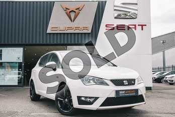 SEAT Ibiza 1.2 TSI 110 FR Technology 5dr in White at Listers SEAT Coventry