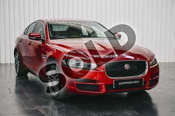 Jaguar XE 2.0 Prestige 4dr Auto in Firenze Red at Listers Jaguar Solihull
