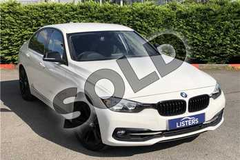 BMW 3 Series 320i Sport 4dr Step Auto in Solid - Alpine white at Listers U Boston