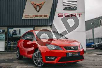 SEAT Ibiza Sport  Special Edition 1.4 TSI ACT FR Edition 3dr in Red at Listers SEAT Coventry