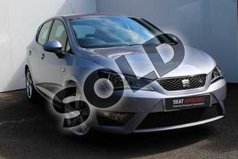 SEAT Ibiza 1.2 TSI 110 FR Technology 5dr in Grey at Listers SEAT Worcester