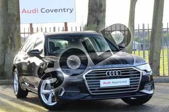 Audi A6 Diesel 40 TDI Sport 5dr S Tronic in Myth Black Metallic at Coventry Audi