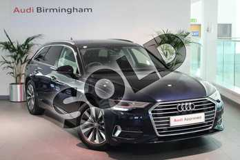 Audi A6 Diesel 40 TDI Sport 5dr S Tronic in Firmament Blue Metallic at Coventry Audi