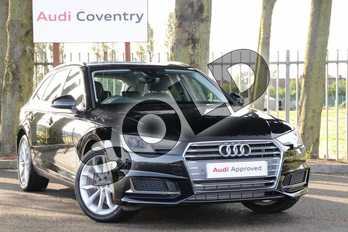 Audi A4 35 TFSI Sport 5dr in Myth Black Metallic at Coventry Audi