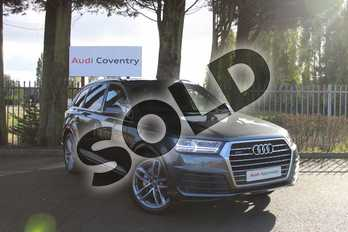Audi Q7 50 TDI Quattro S Line 5dr Tiptronic in Daytona Grey Pearlescent at Coventry Audi