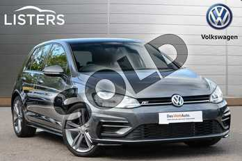 Volkswagen Golf 1.5 TSI EVO 150 R-Line 5dr DSG in Indium Grey at Listers Volkswagen Leamington Spa