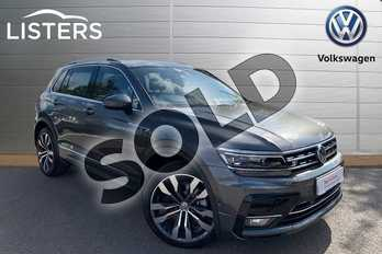 Volkswagen Tiguan 2.0 TDI 190 4Motion R Line 5dr DSG in Indium Grey at Listers Volkswagen Leamington Spa