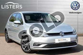 Volkswagen Golf 2.0 TDI Match 5dr in Reflex Silver at Listers Volkswagen Leamington Spa