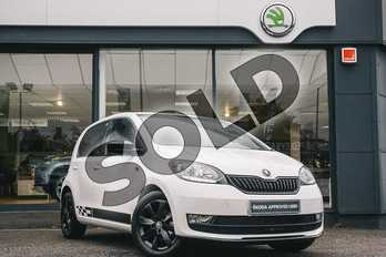 Skoda Citigo 1.0 MPI GreenTech Monte Carlo 5dr in Candy White at Listers ŠKODA Coventry