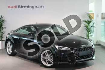 Audi TT 45 TFSI Sport 2dr in Myth Black Metallic at Birmingham Audi
