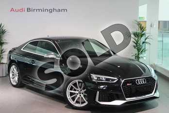 Audi RS5 RS 5 RS 5 TFSI Quattro 2dr Tiptronic in Myth Black Metallic at Birmingham Audi