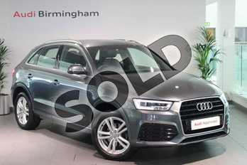 Audi Q3 1.4T FSI S Line 5dr in Daytona Grey Pearlescent at Birmingham Audi