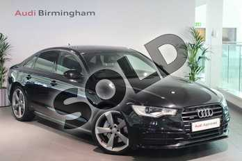 Audi A6 Special Editions 3.0 TDI Quattro Black Edition 4dr S Tronic in Phantom Black, pearl effect at Birmingham Audi
