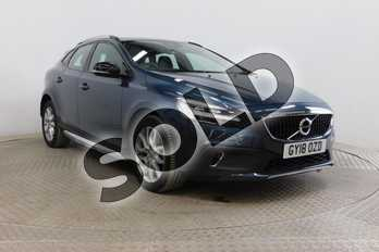 Volvo V40 T3 (152) Cross Country Pro 5dr Geartronic in Denim Blue at Listers Volvo Worcester