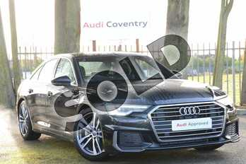 Audi A6 Diesel 40 TDI S Line 4dr S Tronic in Vesuvius Grey Metallic at Coventry Audi