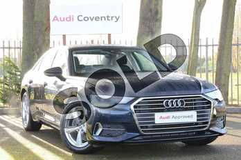 Audi A6 Diesel 40 TDI Sport 4dr S Tronic in Firmament Blue Metallic at Coventry Audi