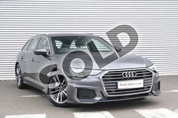 Audi A6 40 TDI S Line 5dr S Tronic in Daytona Grey Pearlescent at Coventry Audi