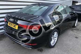 Audi A4 Diesel 35 TDI SE 4dr S Tronic in Brilliant Black at Coventry Audi