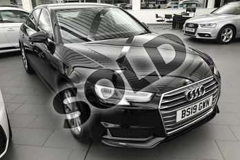 Audi A4 Diesel 35 TDI Sport 4dr S Tronic in Brilliant Black at Coventry Audi