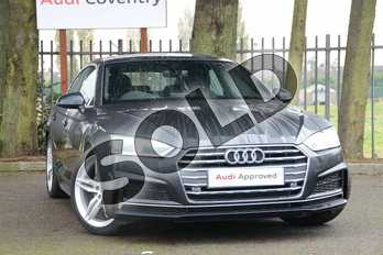 Audi A5 Diesel 35 TDI S Line 5dr S Tronic in Manhattan Grey Metallic at Coventry Audi