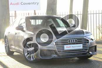 Audi A6 Diesel 40 TDI S Line 4dr S Tronic in Daytona Grey Pearlescent at Coventry Audi