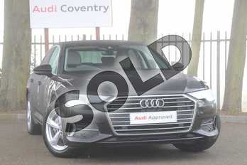 Audi A6 Diesel 40 TDI Sport 4dr S Tronic in Brilliant Black at Coventry Audi