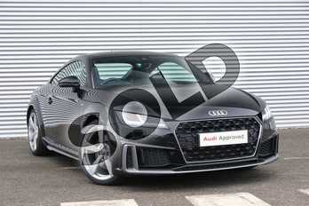 Audi TT 45 TFSI S Line 2dr S Tronic in Myth Black Metallic at Coventry Audi