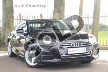 Audi A5 40 TDI Quattro Sport 2dr S Tronic in Brilliant Black at Coventry Audi