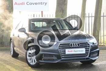 Audi A4 Diesel 35 TDI SE 4dr S Tronic in Manhattan Grey Metallic at Coventry Audi