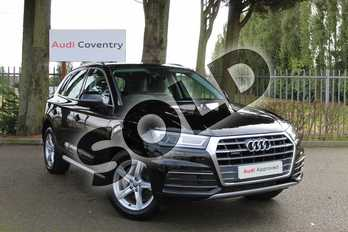 Audi Q5 40 TDI Quattro Sport 5dr S Tronic in Myth Black Metallic at Coventry Audi