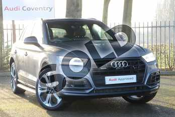 Audi Q5 40 TDI Quattro Vorsprung 5dr S Tronic in Monsoon Grey Metallic at Coventry Audi